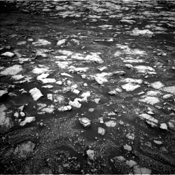 Nasa's Mars rover Curiosity acquired this image using its Left Navigation Camera on Sol 3000, at drive 2562, site number 84