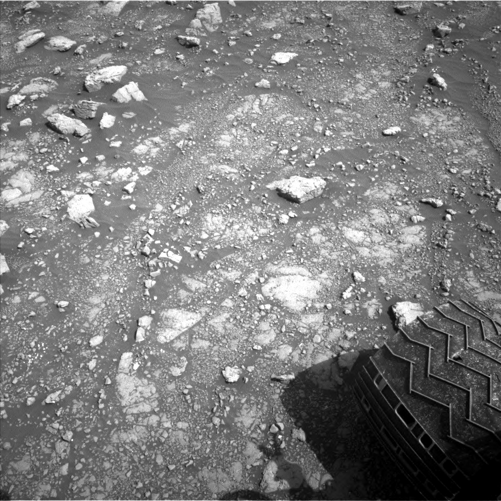 Nasa's Mars rover Curiosity acquired this image using its Left Navigation Camera on Sol 3000, at drive 0, site number 85