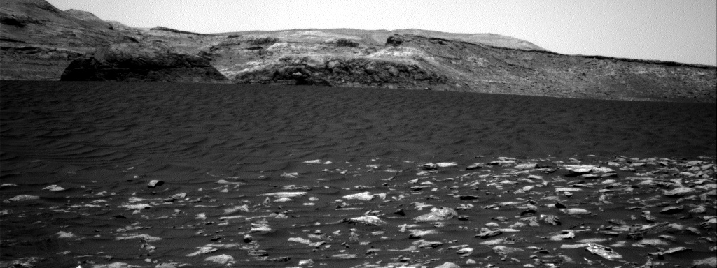 Nasa's Mars rover Curiosity acquired this image using its Right Navigation Camera on Sol 3000, at drive 2352, site number 84