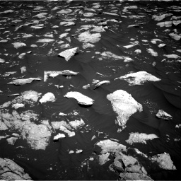 Nasa's Mars rover Curiosity acquired this image using its Right Navigation Camera on Sol 3000, at drive 2364, site number 84