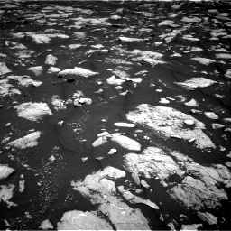 Nasa's Mars rover Curiosity acquired this image using its Right Navigation Camera on Sol 3000, at drive 2388, site number 84