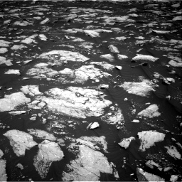 Nasa's Mars rover Curiosity acquired this image using its Right Navigation Camera on Sol 3000, at drive 2400, site number 84