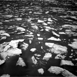 Nasa's Mars rover Curiosity acquired this image using its Right Navigation Camera on Sol 3000, at drive 2418, site number 84