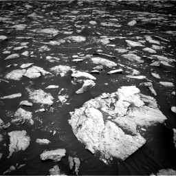 Nasa's Mars rover Curiosity acquired this image using its Right Navigation Camera on Sol 3000, at drive 2430, site number 84
