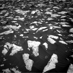 Nasa's Mars rover Curiosity acquired this image using its Right Navigation Camera on Sol 3000, at drive 2460, site number 84