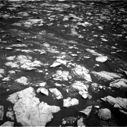 Nasa's Mars rover Curiosity acquired this image using its Right Navigation Camera on Sol 3000, at drive 2526, site number 84