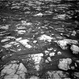 Nasa's Mars rover Curiosity acquired this image using its Right Navigation Camera on Sol 3000, at drive 2550, site number 84