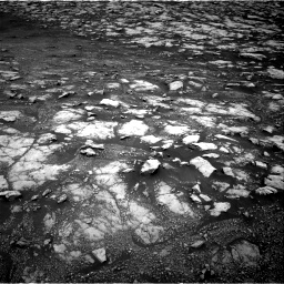Nasa's Mars rover Curiosity acquired this image using its Right Navigation Camera on Sol 3000, at drive 2574, site number 84