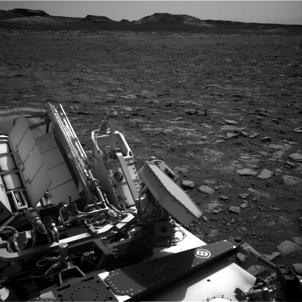 Nasa's Mars rover Curiosity acquired this image using its Right Navigation Camera on Sol 3000, at drive 0, site number 85