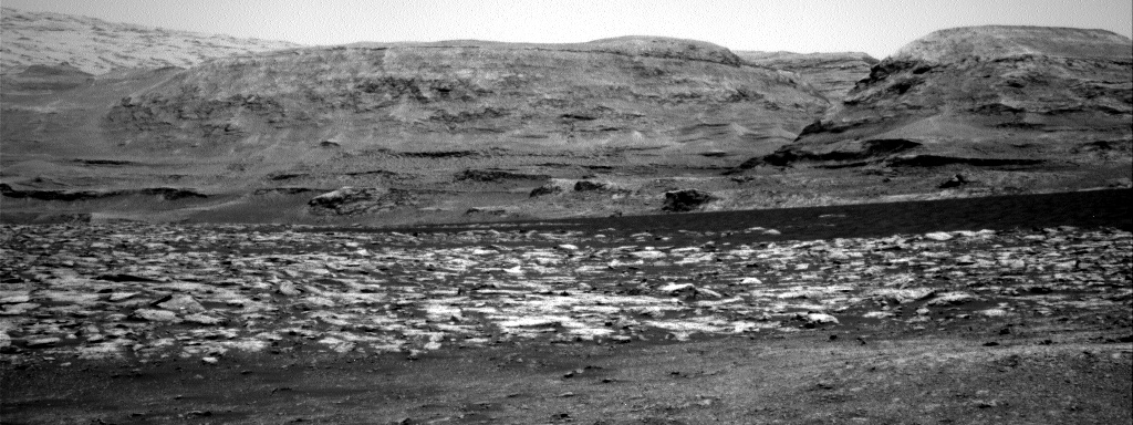 Nasa's Mars rover Curiosity acquired this image using its Right Navigation Camera on Sol 3001, at drive 0, site number 85