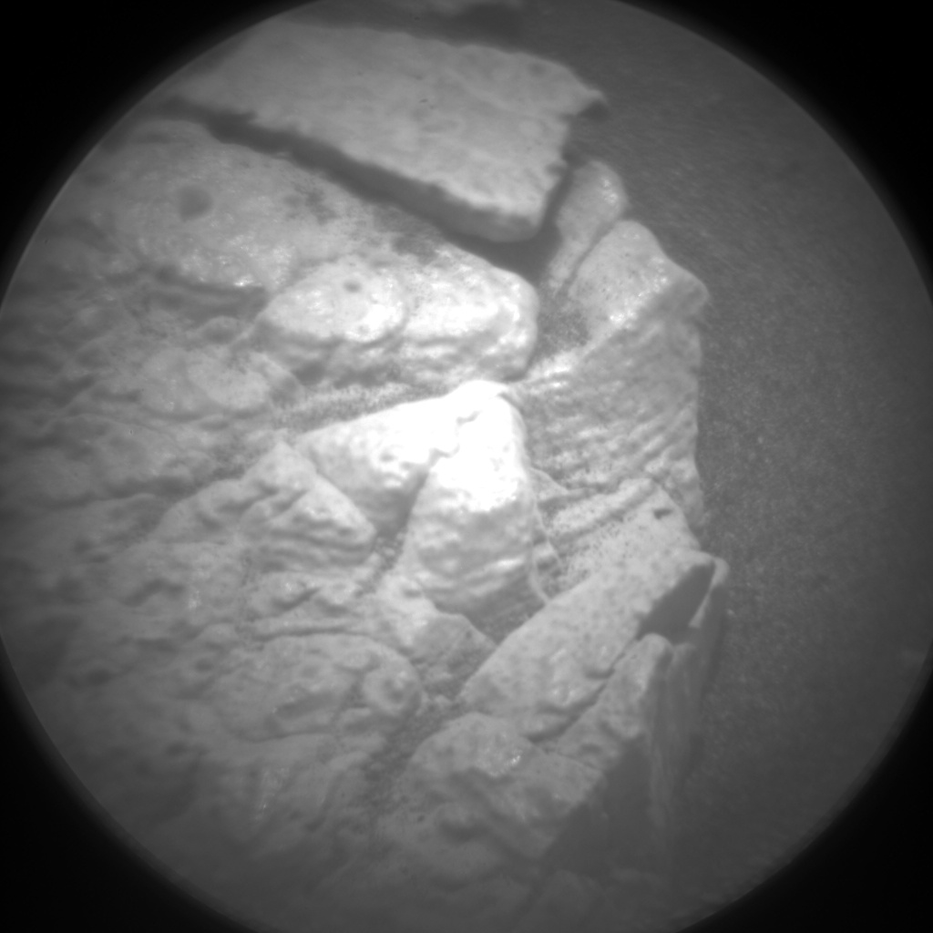 Nasa's Mars rover Curiosity acquired this image using its Chemistry & Camera (ChemCam) on Sol 3004, at drive 0, site number 85