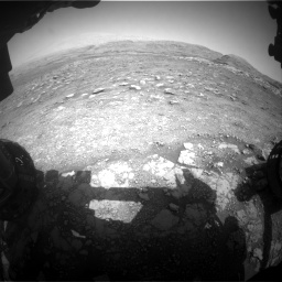 Nasa's Mars rover Curiosity acquired this image using its Front Hazard Avoidance Camera (Front Hazcam) on Sol 3005, at drive 276, site number 85