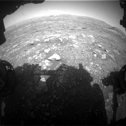 Nasa's Mars rover Curiosity acquired this image using its Front Hazard Avoidance Camera (Front Hazcam) on Sol 3005, at drive 324, site number 85