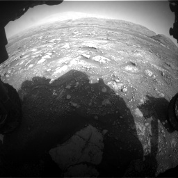 Nasa's Mars rover Curiosity acquired this image using its Front Hazard Avoidance Camera (Front Hazcam) on Sol 3005, at drive 426, site number 85