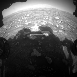 Nasa's Mars rover Curiosity acquired this image using its Front Hazard Avoidance Camera (Front Hazcam) on Sol 3005, at drive 444, site number 85