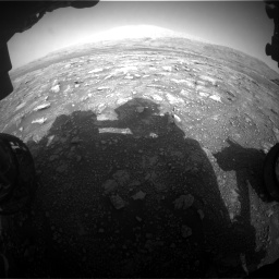 Nasa's Mars rover Curiosity acquired this image using its Front Hazard Avoidance Camera (Front Hazcam) on Sol 3005, at drive 480, site number 85