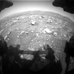 Nasa's Mars rover Curiosity acquired this image using its Front Hazard Avoidance Camera (Front Hazcam) on Sol 3005, at drive 222, site number 85