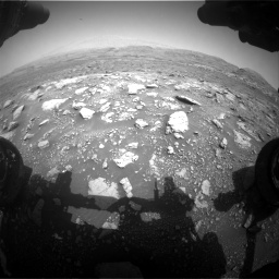 Nasa's Mars rover Curiosity acquired this image using its Front Hazard Avoidance Camera (Front Hazcam) on Sol 3005, at drive 240, site number 85
