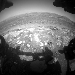 Nasa's Mars rover Curiosity acquired this image using its Front Hazard Avoidance Camera (Front Hazcam) on Sol 3005, at drive 264, site number 85