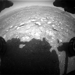 Nasa's Mars rover Curiosity acquired this image using its Front Hazard Avoidance Camera (Front Hazcam) on Sol 3005, at drive 288, site number 85