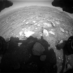 Nasa's Mars rover Curiosity acquired this image using its Front Hazard Avoidance Camera (Front Hazcam) on Sol 3005, at drive 300, site number 85