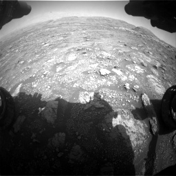 Nasa's Mars rover Curiosity acquired this image using its Front Hazard Avoidance Camera (Front Hazcam) on Sol 3005, at drive 306, site number 85