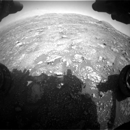 Nasa's Mars rover Curiosity acquired this image using its Front Hazard Avoidance Camera (Front Hazcam) on Sol 3005, at drive 312, site number 85