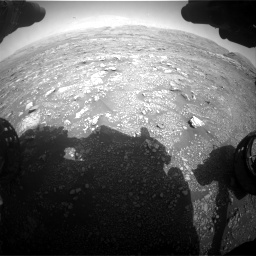 Nasa's Mars rover Curiosity acquired this image using its Front Hazard Avoidance Camera (Front Hazcam) on Sol 3005, at drive 318, site number 85