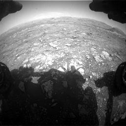 Nasa's Mars rover Curiosity acquired this image using its Front Hazard Avoidance Camera (Front Hazcam) on Sol 3005, at drive 330, site number 85