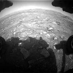 Nasa's Mars rover Curiosity acquired this image using its Front Hazard Avoidance Camera (Front Hazcam) on Sol 3005, at drive 336, site number 85