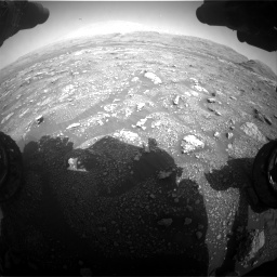 Nasa's Mars rover Curiosity acquired this image using its Front Hazard Avoidance Camera (Front Hazcam) on Sol 3005, at drive 342, site number 85