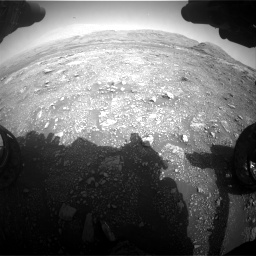 Nasa's Mars rover Curiosity acquired this image using its Front Hazard Avoidance Camera (Front Hazcam) on Sol 3005, at drive 354, site number 85