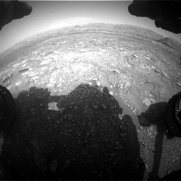 Nasa's Mars rover Curiosity acquired this image using its Front Hazard Avoidance Camera (Front Hazcam) on Sol 3005, at drive 372, site number 85