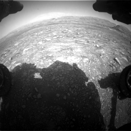 Nasa's Mars rover Curiosity acquired this image using its Front Hazard Avoidance Camera (Front Hazcam) on Sol 3005, at drive 384, site number 85