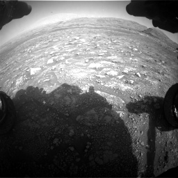 Nasa's Mars rover Curiosity acquired this image using its Front Hazard Avoidance Camera (Front Hazcam) on Sol 3005, at drive 390, site number 85