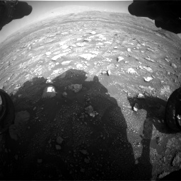 Nasa's Mars rover Curiosity acquired this image using its Front Hazard Avoidance Camera (Front Hazcam) on Sol 3005, at drive 402, site number 85