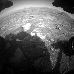 Nasa's Mars rover Curiosity acquired this image using its Front Hazard Avoidance Camera (Front Hazcam) on Sol 3005, at drive 420, site number 85
