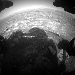 Nasa's Mars rover Curiosity acquired this image using its Front Hazard Avoidance Camera (Front Hazcam) on Sol 3005, at drive 432, site number 85