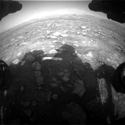 Nasa's Mars rover Curiosity acquired this image using its Front Hazard Avoidance Camera (Front Hazcam) on Sol 3005, at drive 438, site number 85