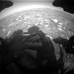 Nasa's Mars rover Curiosity acquired this image using its Front Hazard Avoidance Camera (Front Hazcam) on Sol 3005, at drive 450, site number 85