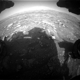 Nasa's Mars rover Curiosity acquired this image using its Front Hazard Avoidance Camera (Front Hazcam) on Sol 3005, at drive 462, site number 85