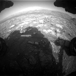 Nasa's Mars rover Curiosity acquired this image using its Front Hazard Avoidance Camera (Front Hazcam) on Sol 3005, at drive 486, site number 85