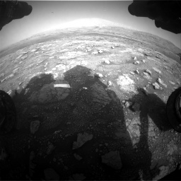 Nasa's Mars rover Curiosity acquired this image using its Front Hazard Avoidance Camera (Front Hazcam) on Sol 3005, at drive 492, site number 85