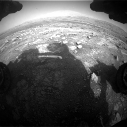 Nasa's Mars rover Curiosity acquired this image using its Front Hazard Avoidance Camera (Front Hazcam) on Sol 3005, at drive 498, site number 85