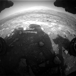 Nasa's Mars rover Curiosity acquired this image using its Front Hazard Avoidance Camera (Front Hazcam) on Sol 3005, at drive 510, site number 85