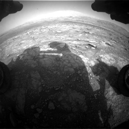 Nasa's Mars rover Curiosity acquired this image using its Front Hazard Avoidance Camera (Front Hazcam) on Sol 3005, at drive 516, site number 85