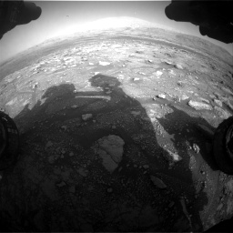 Nasa's Mars rover Curiosity acquired this image using its Front Hazard Avoidance Camera (Front Hazcam) on Sol 3005, at drive 522, site number 85