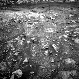Nasa's Mars rover Curiosity acquired this image using its Left Navigation Camera on Sol 3005, at drive 96, site number 85
