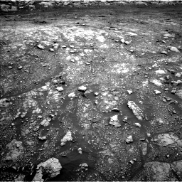 Nasa's Mars rover Curiosity acquired this image using its Left Navigation Camera on Sol 3005, at drive 102, site number 85