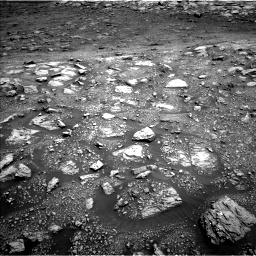 Nasa's Mars rover Curiosity acquired this image using its Left Navigation Camera on Sol 3005, at drive 204, site number 85